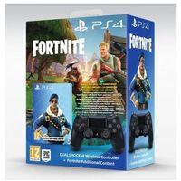 Gamepady, SONY Kontroler bezprzewodowy DualShock 4 V2.0 Czarny + Pakiet dodatków Fortnite >> BOGATA OFERTA - SZYBKA WYSYŁKA - PROMOCJE - DARMOWY TRANSPORT OD 99 ZŁ!