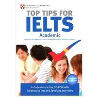 Książki do nauki języka, The Official Top Tips for IELTS Academic module + CD-ROM (ESOL) (lp) (opr. miękka)