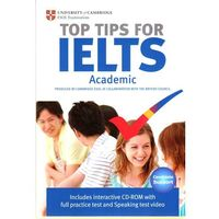 Książki do nauki języka, The Official Top Tips for IELTS Academic module + CD-ROM (ESOL) (lp) (opr. miękka)