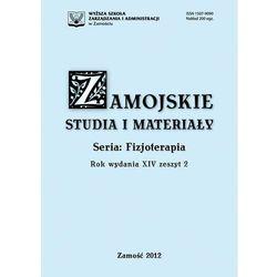Zamojskie Studia i Materiały. Seria Fizjoterapia. T. 14, z. 2 - No author - ebook