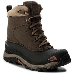Śniegowce THE NORTH FACE - Chilkat III T939V6YVA Mudpack Brown/Bombay Orange