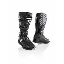 Acerbis buty x-race z ukrytym zawiasem czarny
