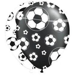 Balony z nadrukiem Piłka Nożna - 8 szt.