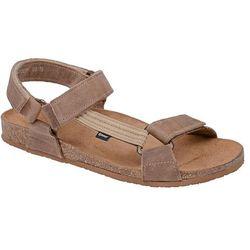 Sandały OTMĘT 415CP Beżowe NaturForm Fussbett Jezuski - Beżowy ||Brązowy