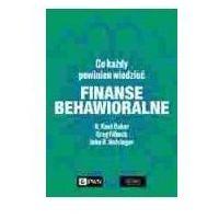 Biblioteka biznesu, Finanse behawioralne (opr. miękka)