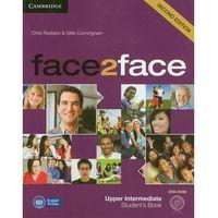 Językoznawstwo, Face2face 2ed Upper-Intermediate Student's Book Z Płytą Dvd (opr. miękka)