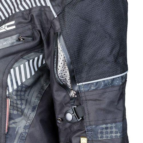 Kurtki męskie, Męska kurtka motocyklowa W-TEC Kamicer NF-2100, Czarno-szary, WXL