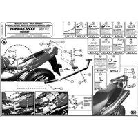 Stelaże motocyklowe, Kappa KZ162 Stelaż centralny Honda Cb 600 F Hornet / S (98 > 02)