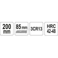 Nóż monterski składany prosty / YT-7600 / YATO - ZYSKAJ RABAT 30 ZŁ
