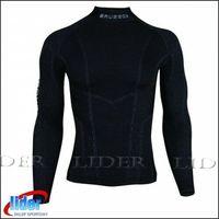 Pozostała odzież sportowa, Bluza męska termoaktywna Brubeck Extreme Merino nr kat. LS10210