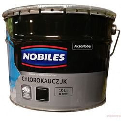Emalia chlorokauczukowa Nobiles czarna 10L