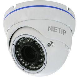 Kamera IP, kopułkowa NETIP K30m 1.3 Biała PoE
