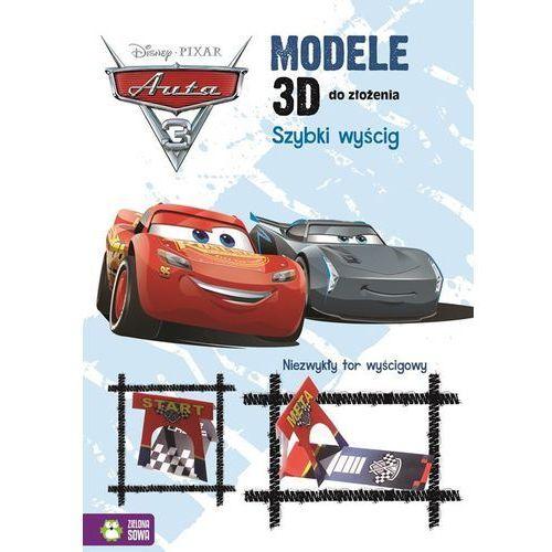 Książki dla dzieci, Modele 3D do złożenia Szybki wyścig Auta 3 (opr. miękka)