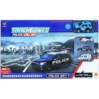 Policja dla dzieci, Tor samochodowy metalowy policja