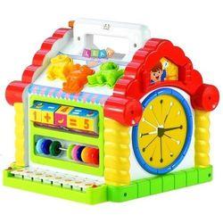 Edukacyjny multifunkcyjny domek pianinko sorter - Lean Toys