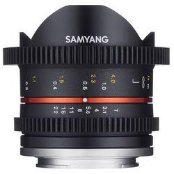 SAMYANG 8 mm T3.1 FISH-EYE VDSLR czarny obiektyw mocowanie Sony E (NEX)
