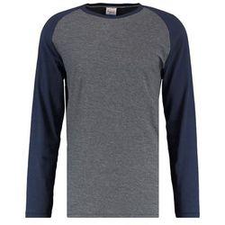 Jack & Jones JORNEWSTAN CREW NECK Bluzka z długim rękawem dark grey melange