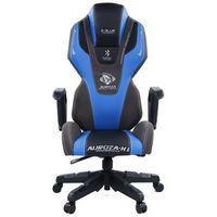 Fotele dla graczy, Fotel E-BLUE Auroza EEC324BLAA-IA Czarno-niebieski