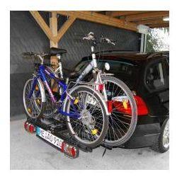 Składany bagażnik na rowery EUFAB POKER-F, uchwyt na hak + torba