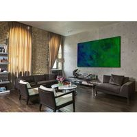 Obrazy, Nowoczesne obrazy ręcznie malowane - turkusowa toń rabat 10%