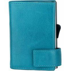 SecWal SecWal 2 Kreditkartenetui Geldbörse RFID Leder 9 cm türkis ZAPISZ SIĘ DO NASZEGO NEWSLETTERA, A OTRZYMASZ VOUCHER Z 15% ZNIŻKĄ