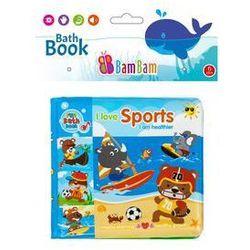 Książeczka do kąpieli Zwierzęta Sport. Darmowy odbiór w niemal 100 księgarniach!