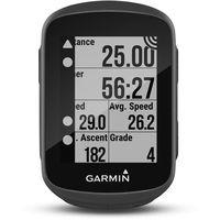 Nawigacja turystyczna, Garmin Edge 130 Nawigacja GPS HR Bundle czarny 2018 Nawigacje GPS
