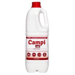 Campi Red do wc turystycznych kempingowych 2l płyn do toalet przenośnych