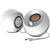 Głośniki do komputera, Głośniki CREATIVE Pebble 2.0 Biały + Zamów z DOSTAWĄ JUTRO! + DARMOWY TRANSPORT!