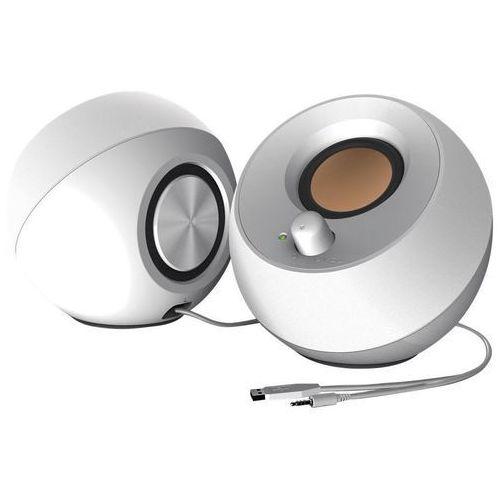 Głośniki do komputera, Głośniki CREATIVE Pebble 2.0 Biały + DARMOWY TRANSPORT!
