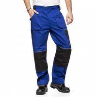 Kombinezony i spodnie robocze, Spodnie do pasa HELIOS AVACORE w kolorze niebiesko- czarnym