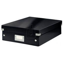 Pudło Leitz C&S WOW A4 z przegródkami czarne 60580095