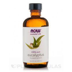 NOW FOODS Olejek Eteryczny Eukaliptus - 118 ml