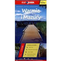 Mapy i atlasy turystyczne, Warmia i Mazury. Foliowana mapa turystyczna w skali 1:250 000