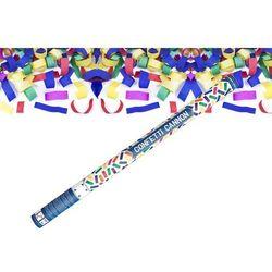 Tuba strzelająca - kolorowe konfetti - 80 cm - 1 szt.