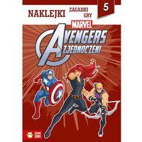 Naklejki, Avengers. Naklejki, zabawy, gry cz.5 - Praca Zbiorowa