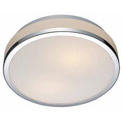 Plafon LAMPA sufitowa CAMRY 5007-S Italux okrągła OPRAWA łazienkowa IP44 chrom biała