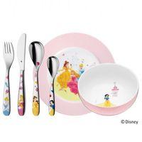 Sztućce dla dzieci, WMF - Księżniczki Disney'a Zestaw obiadowy dla dzieci