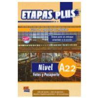 Książki do nauki języka, Etapas Plus A2.2 Podręcznik Z Ćwiczeniami + Cd Audio (opr. miękka)