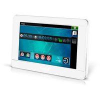 """Centralki alarmowe, INT-TSI-WSW Manipulator graficzny z ekranem dotykowym 7"""" Satel(biały)"""