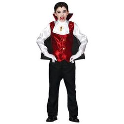 Strój karnawałowy Drakula 5-6 lat 1Y34A8