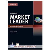 Książki do nauki języka, Market Leader Intermediate. Test File (opr. miękka)
