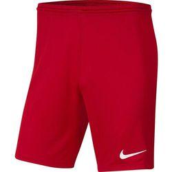 Spodenki dla dzieci Nike Dry Park III NB K czerwone BV6865 657
