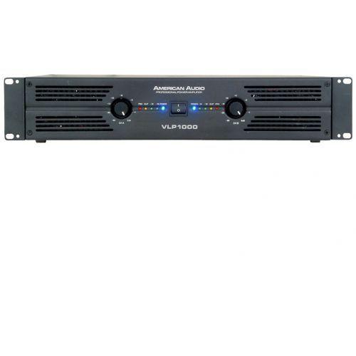 Wzmacniacze studyjne, American Audio VLP 1000 wzmacniacz mocy 2x500W/4 Płacąc przelewem przesyłka gratis!