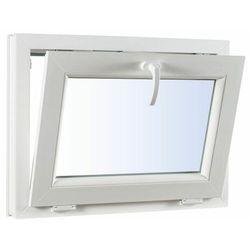 Okno PCV uchylne trzyszybowe 865 x 535 mm białe