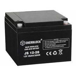 Akumulator ENERBLOCK AGM JS12-28 12V 28 Ah