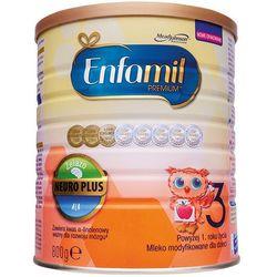 ENFAMIL 800g Premium 3 Mleko modyfikowane dla dzieci powyżej 1 roku życia
