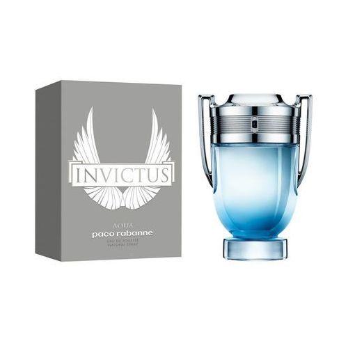 Pozostałe zapachy, PACO RABANNE Invictus Aqua EDT 50 ml Dla Panów
