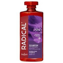 radical szampon normalizujący do włosów przetłuszczających się (400 ml) marki Farmona