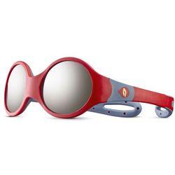 Julbo Loop M Spectron 4 Okulary przeciwsłoneczne Dzieci, red/blue/grey flash silver 2020 Okulary